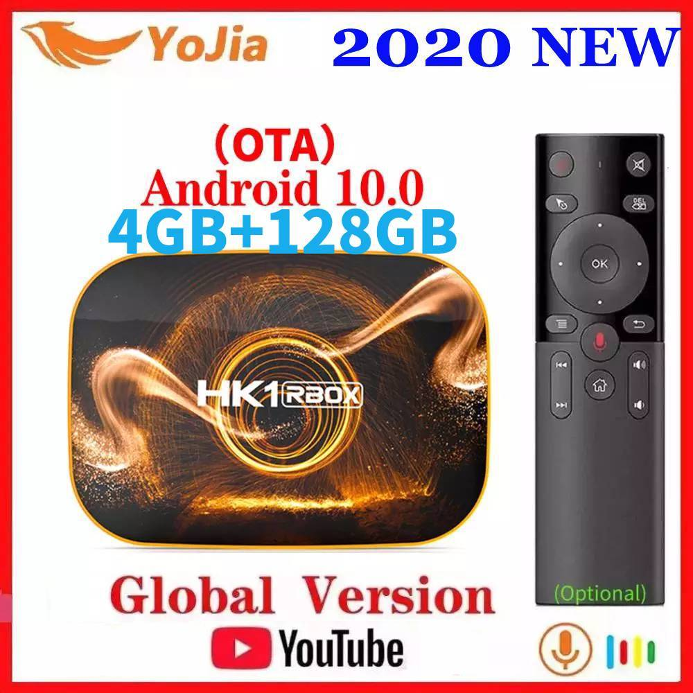 Smart TV Box Android 10 0 HK1 MAX 4GB RAM 128GB ROM Android 10 TVBOX 4K Media Player USB3 0 Set Top Box 2G16G Youtube