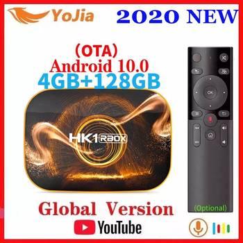 Smart TV Box Android 10.0 HK1 MAX 4GB RAM 128GB ROM Android 10 TVBOX 4K Media Player USB3.0 Set Top Box 2G16G Youtube