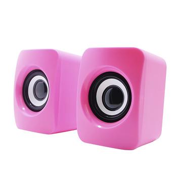 HIFI poziom drgań wykrywania jakość dźwięku Mini ciała z przewodowy USB 3 5mm interfejs głośnik HIFI-poziom drgań potężny bas tanie i dobre opinie CARPRIE Przenośne Brak NONE Z tworzywa sztucznego Pełny zakres 2 (2 0) CN (pochodzenie) 200-299W Facebook M 175 w z polimeru