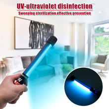 110V LED Portable 11W Handheld Ultraviolet UVC Disinfection Lamp Power Cord Length 1.6M US Regulations Black