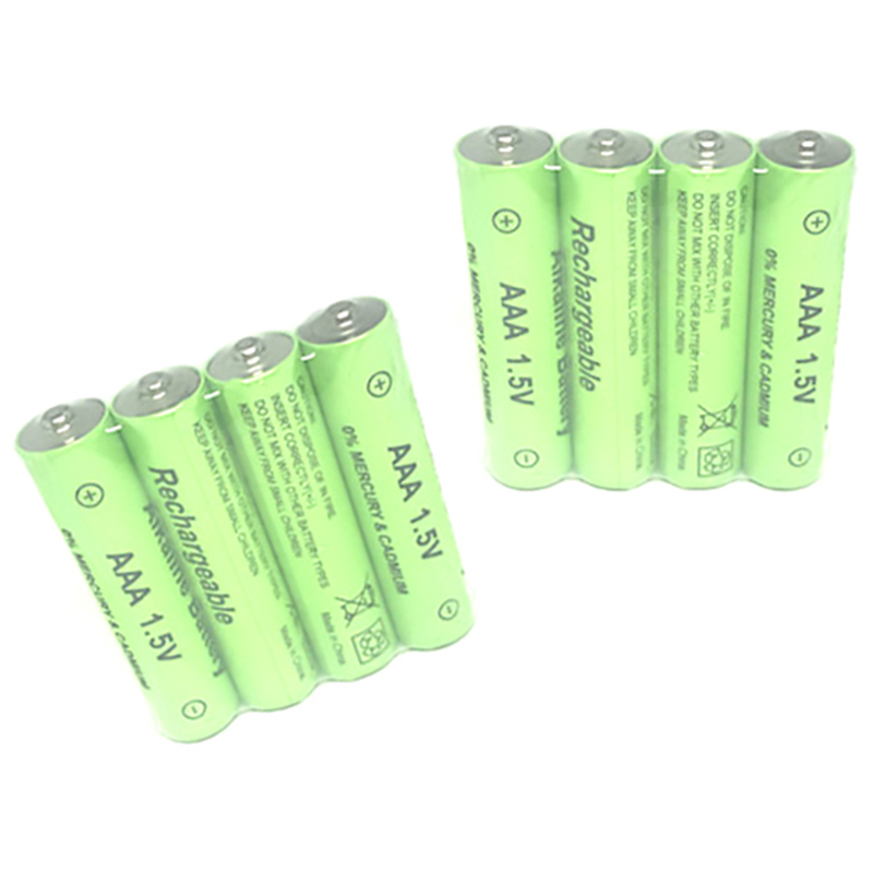 8Pcs <font><b>1.5V</b></font> <font><b>Aa</b></font> <font><b>3000Mah</b></font> Alkaline Rechargeable <font><b>Battery</b></font> + 8Pcs <font><b>1.5V</b></font> Aaa 2100Mah Alkaline <font><b>Battery</b></font> For Led Light Toy Mp3 image