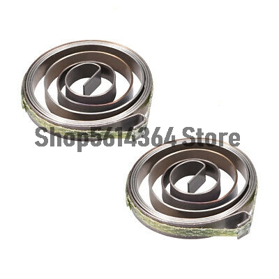 Drill Press Spring Quill Feed Return Coil Spring Assembly 680mm 36x6x0.65mm 2pcs