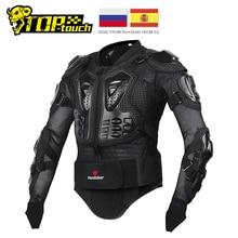 HEROBIKER Motorcycle Jacket Men Motorcycle Armor Full Body M