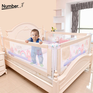 Baby Bed Fence Home Kids playpen Safety Gate Products child Care Barrier for beds Crib Rails Security Fencing Children Guardrail(China)