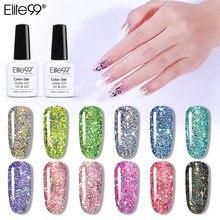 Блестящий УФ-Гель-лак Elite99, 10 мл, блестящий Блестящий Гель-лак для ногтей, Полупостоянный эмалированный лак для дизайна ногтей