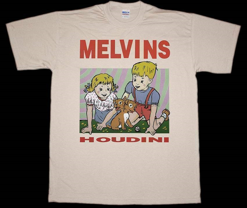 Melvins Pinkus Abortion Technician Rock Band Men/'s White T-Shirt Size S to 3XL