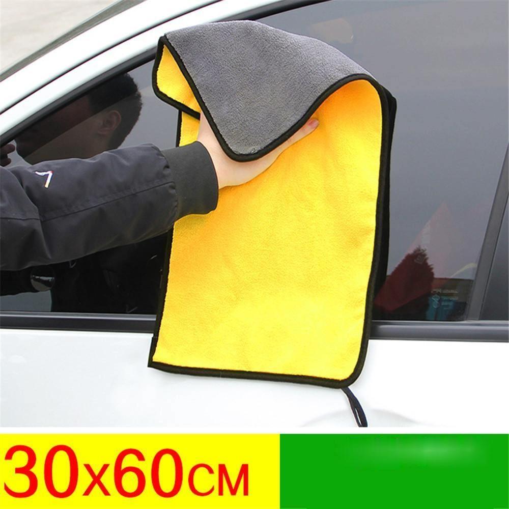 1 шт. 30x3 0/60 см автомойки микрофибра Полотенца чистки автомобиля сушка ткань с каймой, для ухода за автомобилем ткань с подробным описанием Ав...