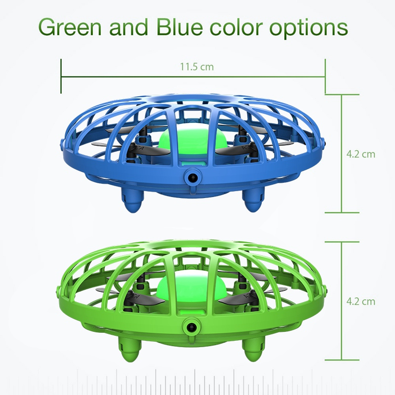 Eachine E111 Mini Drone Quadcopter Flying Helicopter Magic Hand UFO Ball Aircraft  Induction Kids Drones Electric Electronic Toy