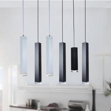 все цены на Modern Kitchen Lamp Dining Room Bar Counter Shop Pipe Pendant Lights Kitchen Light Loft Style Lustres E Pendentes Lighting онлайн