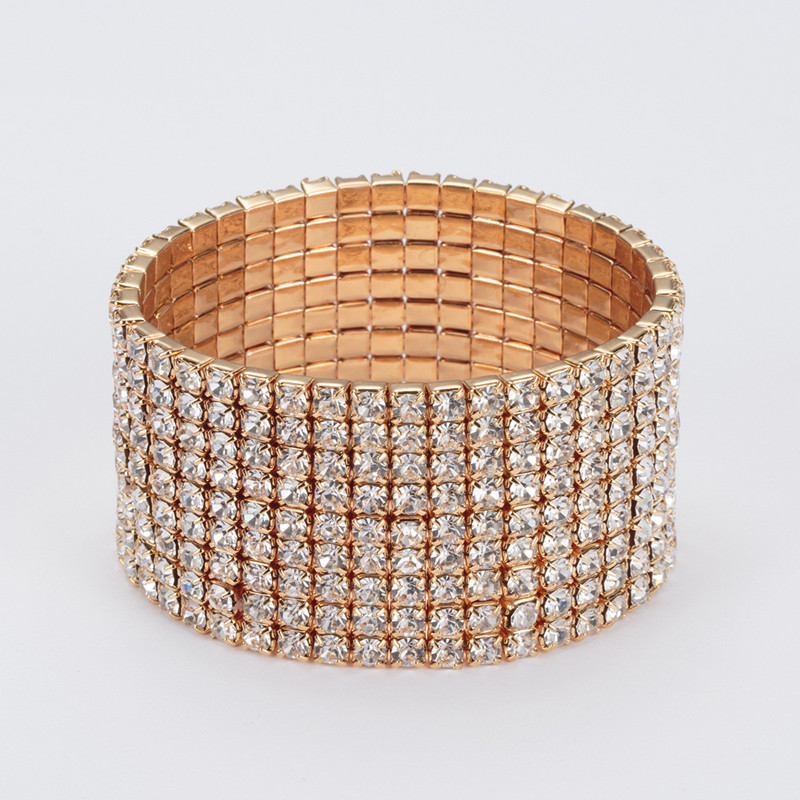 Belly Dance Bracelet Diamond Fashion Bracelet Jewelry Elastic Bracelet Belly Dance Bracelet Oriental Dance Accessories Bracelet