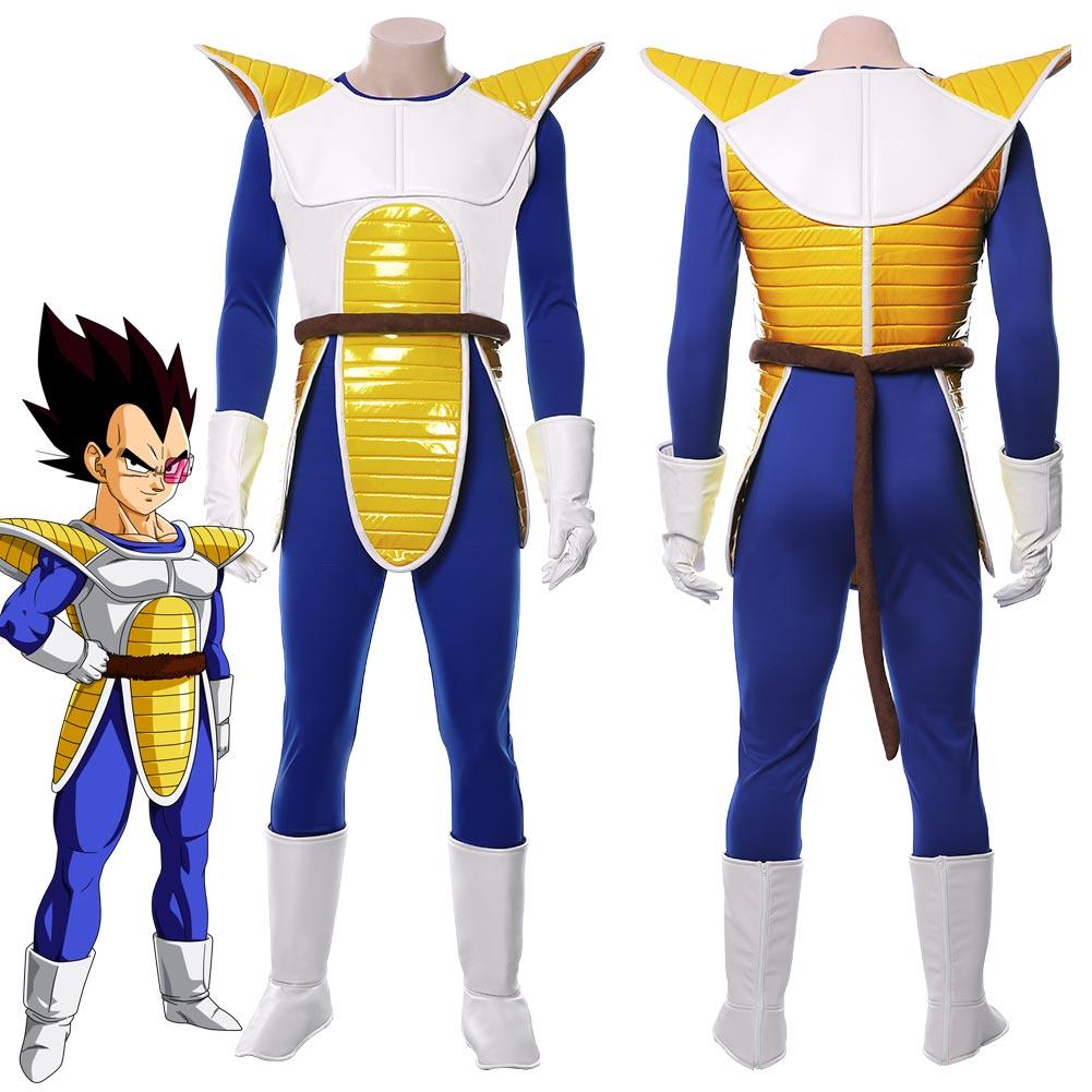 Free shipping Dragon Ball Super Super Saiyan Vegetto cosplay costume custom size