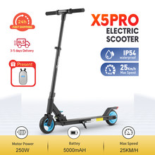 iScooter X5Pro Electric Scooter Adjustable Kick Scooter Foldable Electric Scooter Adult Electric 2 Wheels Scooter UK Stock