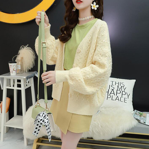 Image 5 - Surmiitro A Manica Lunga Cardigan Donna 2019 Casual Signore Coreane di Inverno Maglione Lavorato A Maglia Tricot Cappotto Giacca Femminile