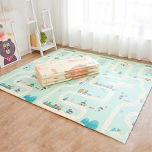 Portable Playmat for Babies Large Thick XPE Crawling Game Pad Children Play Mat Toys Room Decortaion Folding Kids Carpet Rug(China)