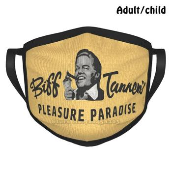 Biff Tannens Pleasure Paradise Logo-Artwork For Wall Art , Posters , Prints , S , Men , Women , Youth Fashion Print Funny Pm2.5 image