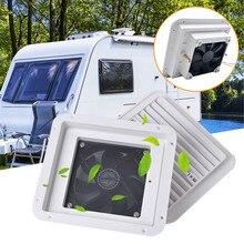 Ventilation-Fan Car-Accessories Caravan Motorhome-Side Exhaust-Air-Vent Wind 12V White