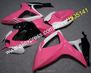 Cowling For Suzuki GSX-R600 GSX-R750 K6 2006 2007 GSXR600 GSXR750 06 07 Pink Motorcycle Fairing (Injection molding)