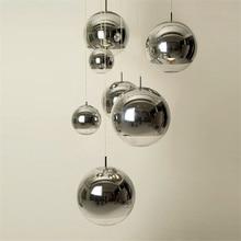 מודרני זכוכית LED תליון מנורת בר מדרגות (אחד כדי שלושה אורות) מסעדה LED תליון אורות סלון מנורת ציפוי כדורי