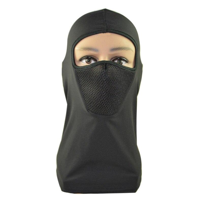Защита от пыли, ветронепроницаемый подшлемник, дышащий эластичный полиэстер, лыжная вязаная шапка для верховой езды, грелка для шеи, черный,...