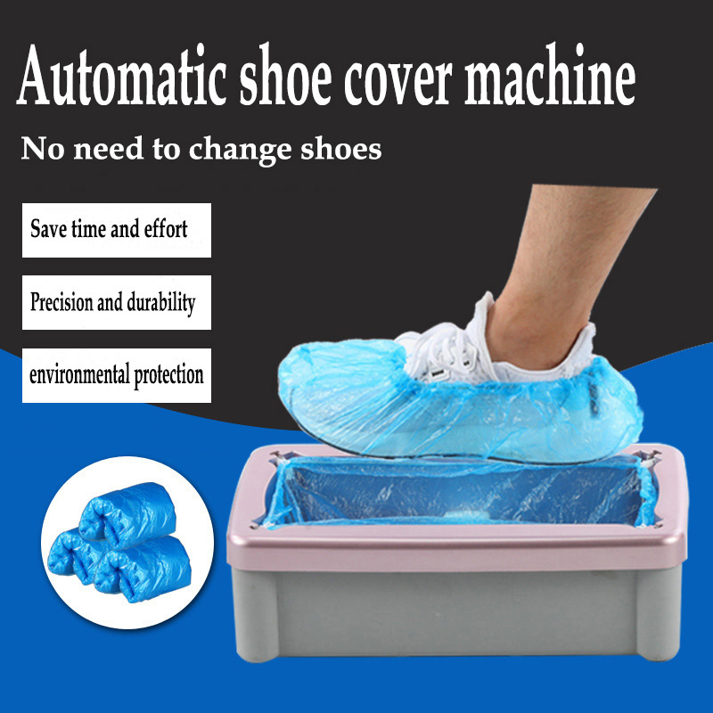 Home Automatic Shoe Cover Machine Disposable Shoe Cover Clean And Tidy The Same Applies To Companies And Offices