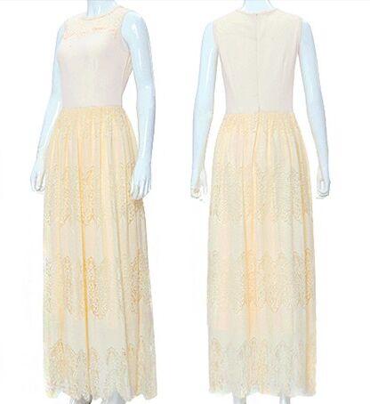 Весна и лето принцесса кружева платья - Женская одежда - Фотография 4