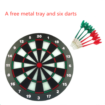 New security dart board 17 inch dart board club home / family entertainment target indoor recreation dart game
