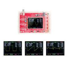 """DSO138 Kit de osciloscopio Digital de bolsillo TFT de 2,4 """", piezas de bricolaje, portátil y carcasa de versión antigua"""