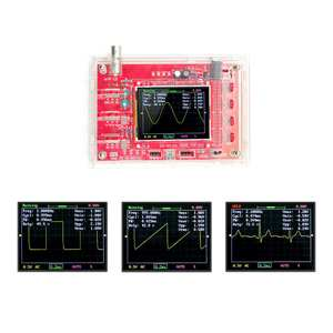 Oscilloscope-Kit DSO138 Digital Handheld Pocket-Size Cover-Shell Full-Assembled TFT Diy-Parts