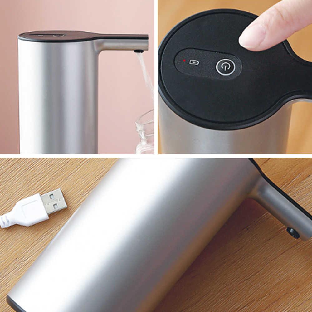 ไฟฟ้าอัตโนมัติปั๊มน้ำปุ่ม Dispenser Gallon Bottle Drinking SWITCH สำหรับใช้ในครัวเรือนอุปกรณ์สูบน้ำ One Key Outlet