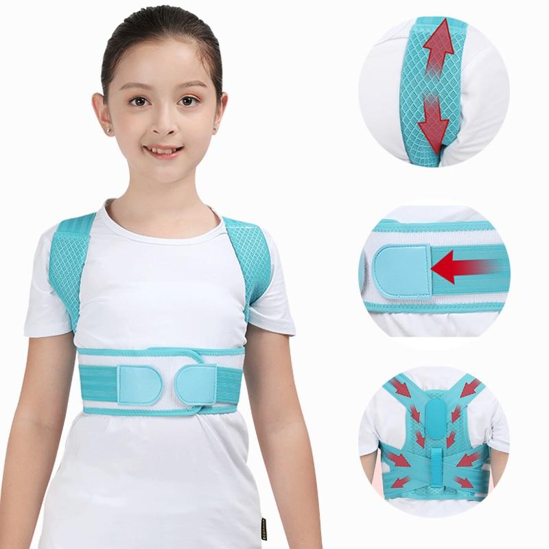 Adjustable Children Posture Corrector Belt with Detachable Shoulder Pad to Develop Good Walking and Sitting Posture 7