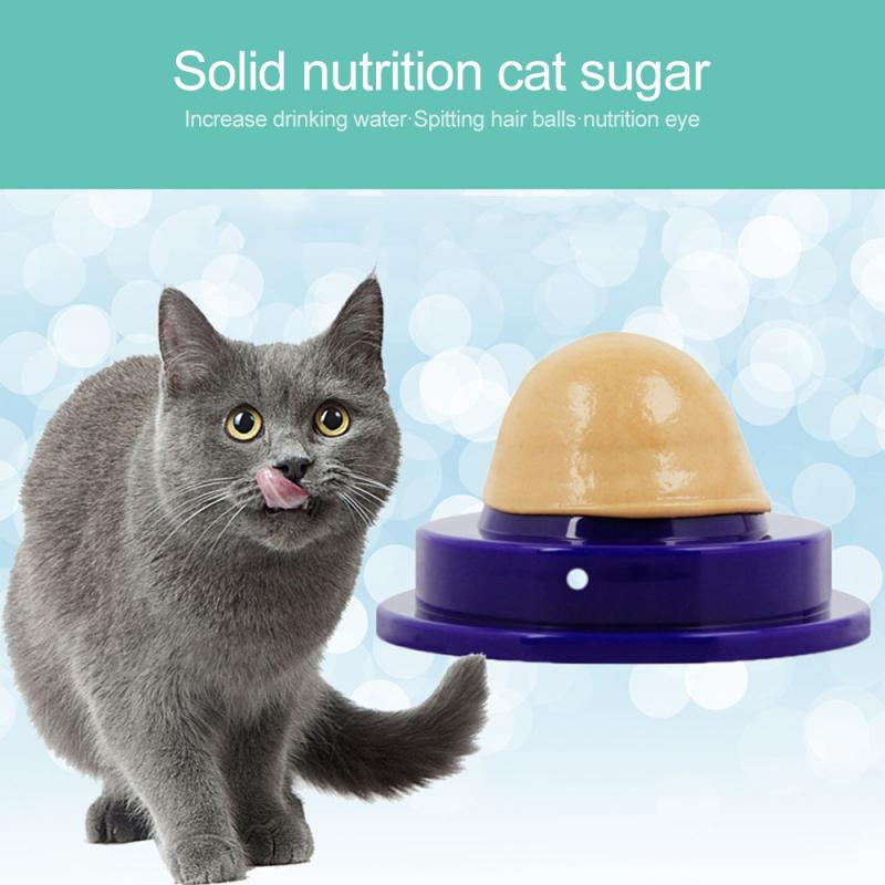 Cats Snack Candy Catnip Sugar Licking Solid Catnip Sugar Licking Nutrition Energy Ball Digestion Cat Health Care Snacks Food