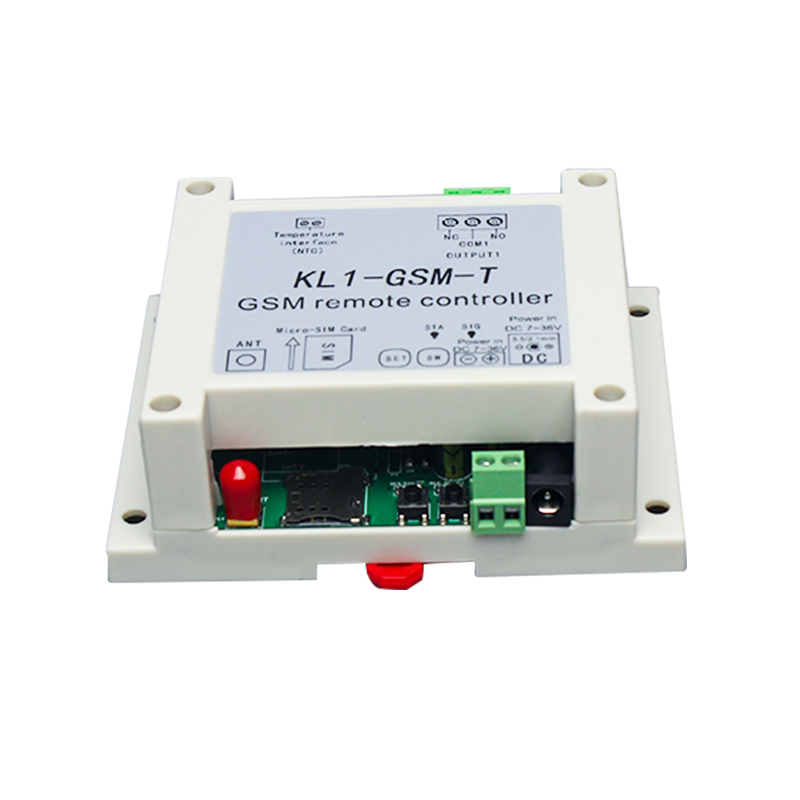GSM ON/OFF RELAY switch access controller KL1-GSM with adaptor and temperature sensor optional