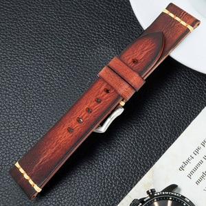 Image 3 - Correia de couro galaxy acessórios relógio pulseira 20mm 22mm pulseira relógio pulseira omega pulseiras de pulso samsung engrenagem s3 banda