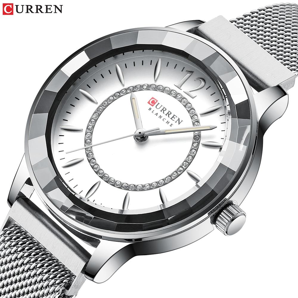 CURREN Top Brand Women Watch Fashion Luxury Quartz Watches Women Ladies Clock Simple Waterproof Wrist Watch Relogio Feminino