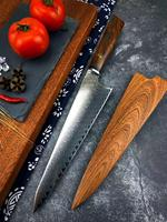 damascus chef knife vg10 damascus steel kichen knife tool japanese knife sharp cleaver knife Cooking knife set 1