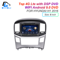 IPS screen DSP soundAndroid 9.0 2 DIN 4g Lte radio For hyundai H1 2010 2016 years GPS DVD player stereo navigation