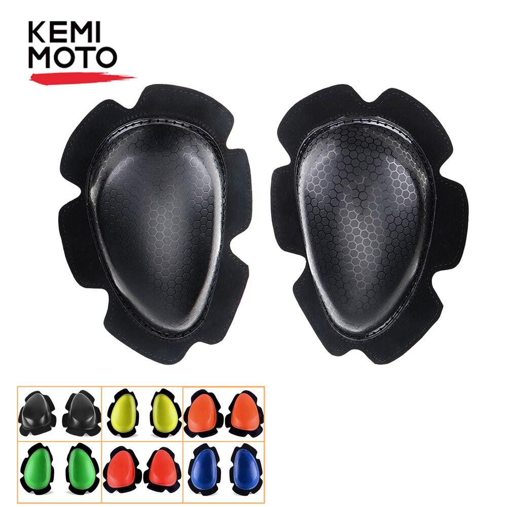 KEMiMOTO 1 Pair Knee Pads Sliders Motorcycle Protective Gears Kneepads Sliders Racing Cycling Sports Bike Knee Cover Wholesale