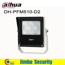 Dahua CCTV światła DH PFM510 D2 15W DC12V oświetlacz światła lampa światło pomocnicze LED oświetlenie dla bezpieczeństwa kamera telewizji przemysłowej na podczerwień IP66