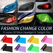 10 Colors 30x60cm (11.81x23.62 inch) Auto Car Light Headlight Taillight Tint Vinyl Film Sticker Motorcycle Whole Car Decoration 10 colors 30x60cm 11 81x23 62 inch auto car light headlight taillight tint vinyl film sticker motorcycle whole car decoration