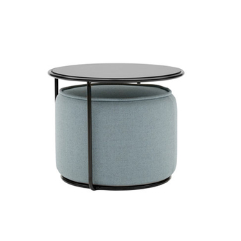 Taburete de mesa de centro de hierro creativo, mesa auxiliar para sofá, mesa de esquina redonda para apartamento pequeño, muebles modernos simples para sala de estar