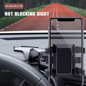 Image 3 - Yeni çok fonksiyonlu araba telefon tutucu evrensel rotasyon yaratıcılık evrensel araç içi telefon tutucu ile bir gizli dur işareti araba aksesuarları