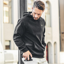 Training Wear Men Hoodie/Sweatshirt Good Quality Streetwear Pullover Hoodies Mens Sweatshirts Causal Fitness