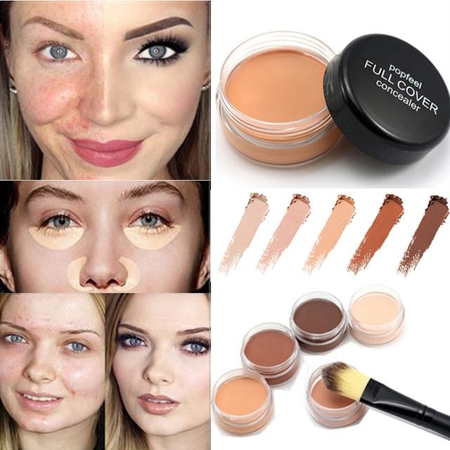 Eyes Primer Concealer Contour Cream Paste Long Lasting Moisturizer Natural Eyes Face Brighten Cosmetic Make Up Base 1