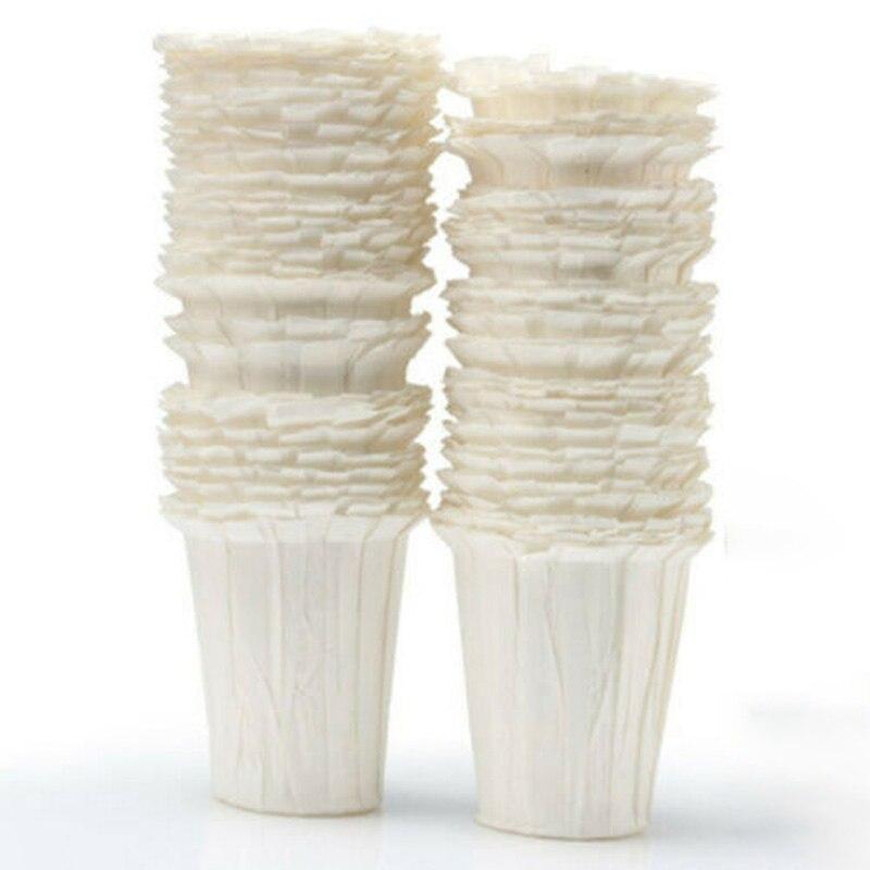 50 Pcs Disposable K-Carafe Coffee Paper Filter For Keurig Large K-Cup Pod 2.0