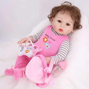 43cm 17'' Full Body Silicone baby reborn Doll twins Bath Toy Lifelike New born Princess Baby Doll Bonecas Bebe reborn gifts