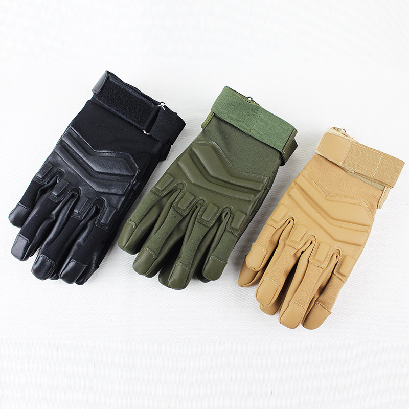 Tactical All-finger Training Gloves Outdoor Cycling Fitness Protective Gloves