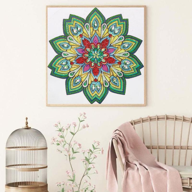 5d Full Drill Diamond Painting Mandala Animal Cross Stitch Mosaic