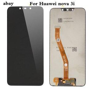 Image 2 - Dla Huawei Nova 3 wyświetlacz LCD ekran dotykowy PAR LX1 LX9 Nova 3i wyświetlacz LCD LX2 L21 Nova 3e ekran LX3 L23 ekran Nova3 naprawy