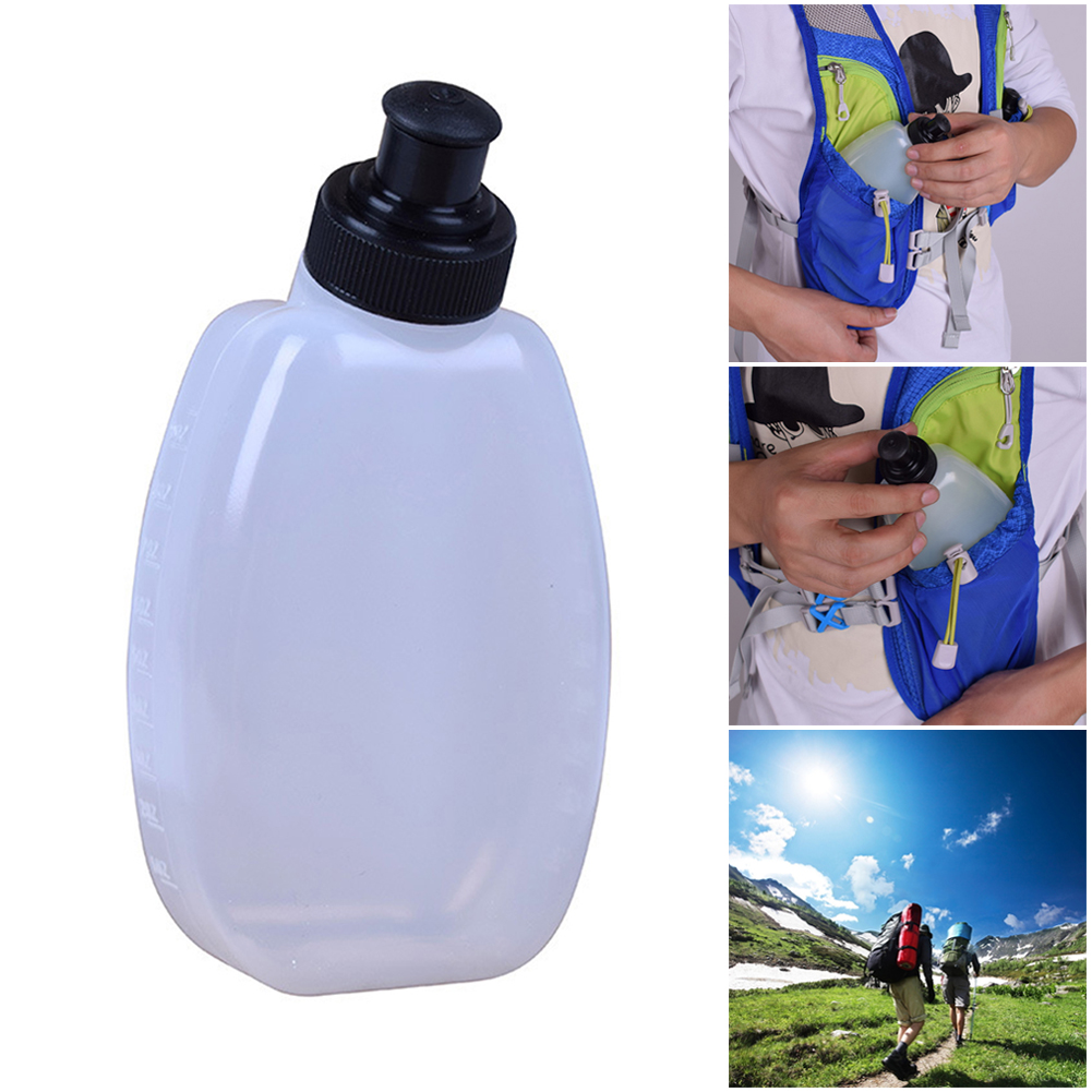 280ML Portable Water Bottle Sports Bike Running Infuser Jogging Hiking Gym Water Kettle For Outdoor Hiking Camping New
