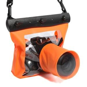 Image 3 - กันน้ำใต้น้ำกระเป๋า HD ถ่ายภาพปกป้องสำหรับ SLR/DSLR กล้อง NC99